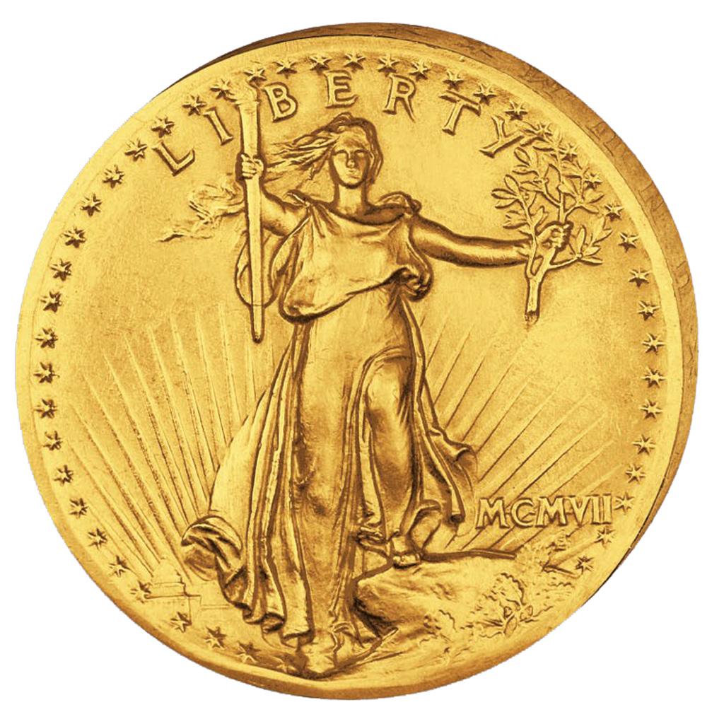 Die Berühmtesten Münzen Der Welt St Gaudens Double Eagle Ein