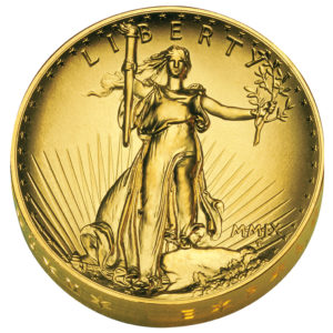"""Ultra-High Relief, USA 20 Dollars Gold 2009 """"Double Eagle"""""""