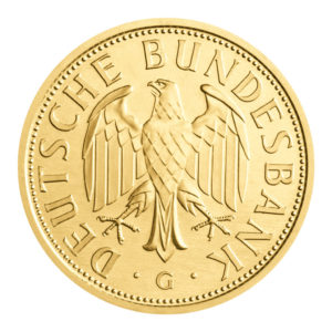 Die erste und letzte, die einzige Goldmark der BRD