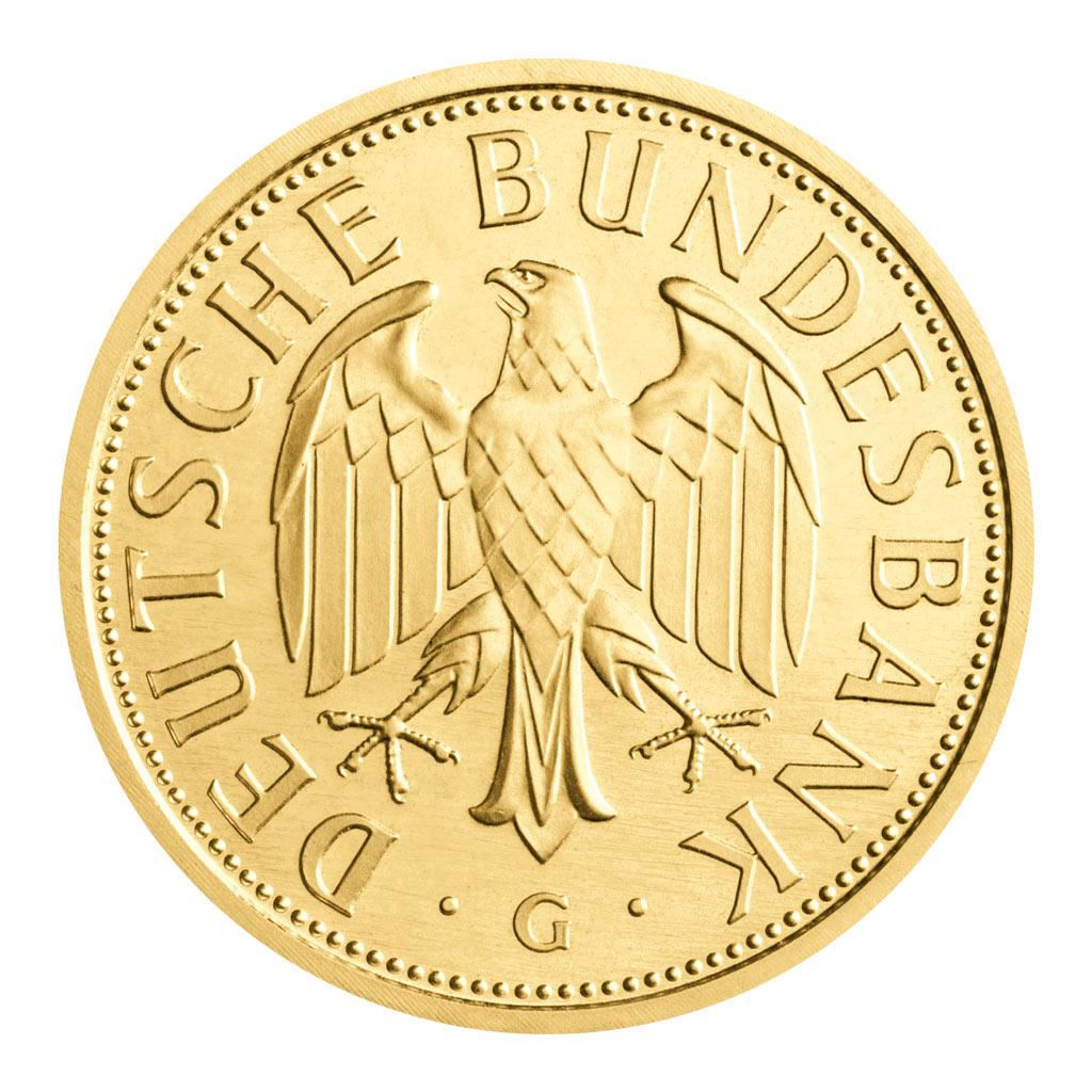 Deutschlands Goldmünzen Brd 1 Dm 2001 Gold Die Erste Und Letzte
