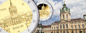 """Änderung der Münzzeichen: BRD 2 Euro 2018 """"Berlin – Charlottenburg"""""""