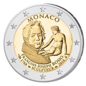 "Monaco 2 Euro-Gedenkmünze 2018 ""250. Geburtstag von François-Joseph Bosio"""