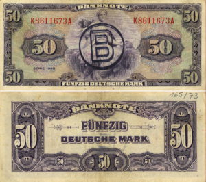 50 DM Banknote 1948, Rosenberg-Nr. 243