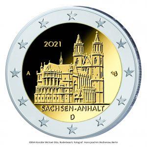 2 Euro Sachsen Anhalt A