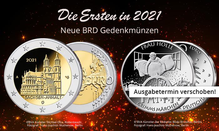 BRD Münzen 2021