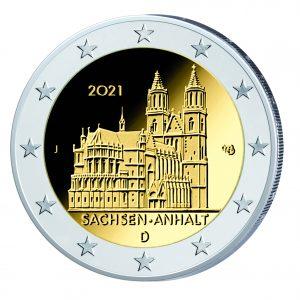 2 Euro Sachsen Anhalt J