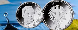 20 Euro Silbermünze Kneipp 2021