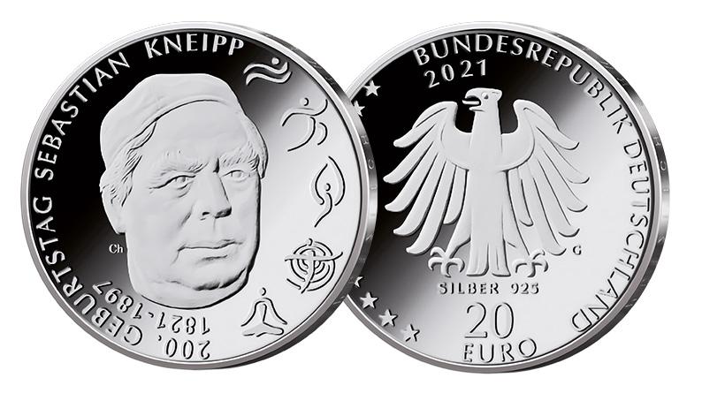 20 Euro Sebastian Kneipp 2021