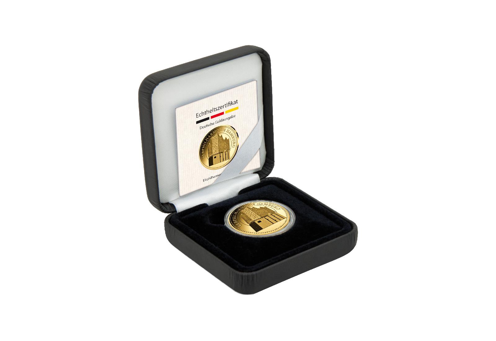Goldausgabe Elbphilharmonie Diverse Gedenkmünzen Deutschland