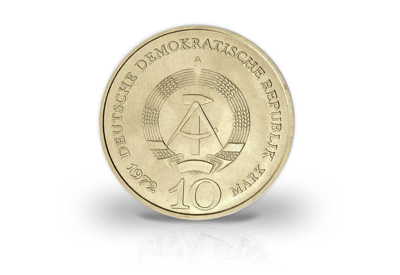 Ddr 10 Mark Gedenkmünze Buchenwald 1970 Jaeger Nr 1539 10 Mark
