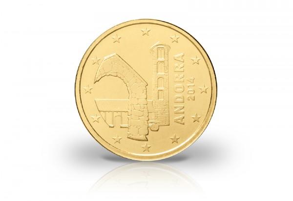Andorra 10 Cent 2014 Andorra Euro Münzen Münzen Primus