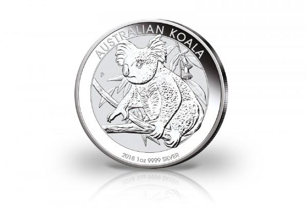Australien 1 Unze Silbermünze 2018 Koala