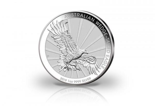 Wedge Tailed Eagle 1 oz Silber 2019 Australien