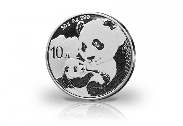 Panda 30 Gramm Silber 2019 China