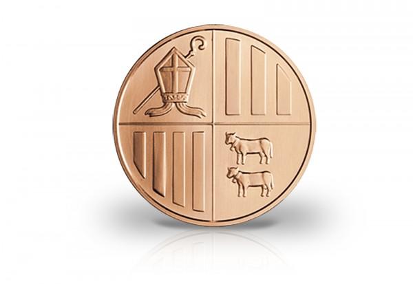 Andorra 1 Unze Kupfermünze 2014