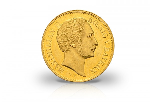 Bayern Gold Dukat 1849 1856 Maximilian Ii Altdeutschland