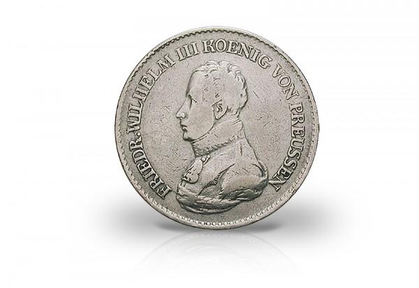 Friedrich Wilhelm Iii Kanonentaler 1816 Bis 1822 900er Silber