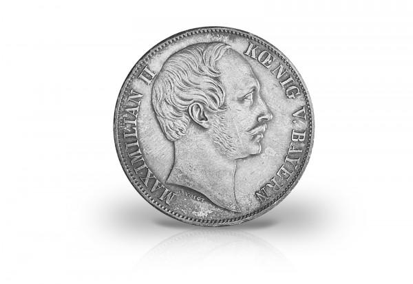 Bayern Vereinstaler 1857 1864 König Maximilian Ii 900er Silber Thun