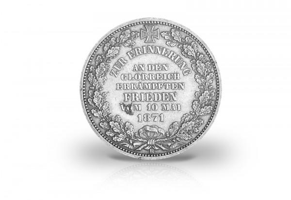 1871 Vz Siegestaler Wappen Bremen Thun 127 Freie Hansestadt