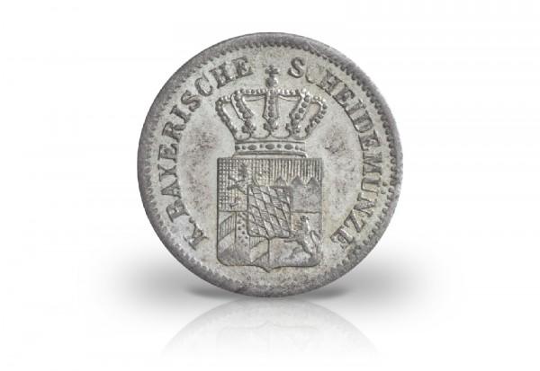 Bayern 1 Kreuzer 1865 1871 Maximilian Ii Bis Ludwig Ii Motiv