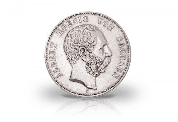 Deutsches Kaiserreich 2 Mark 1891 1902 Ss Albert Sachsen