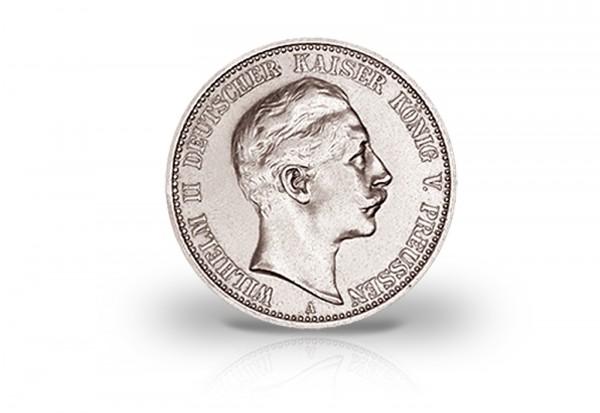 Preußen 2 Mark Silbermünze 1888 Wilhelm Ii J100 Königreich