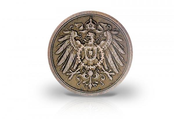 Deutsches Kaiserreich 2 Pfennig 1904-1916 Großer Adler