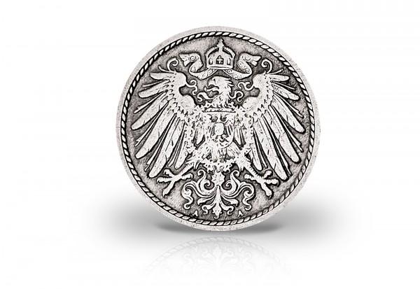 Kaiserreich Umlaufmünzen 5 Pfennig 1890-1915