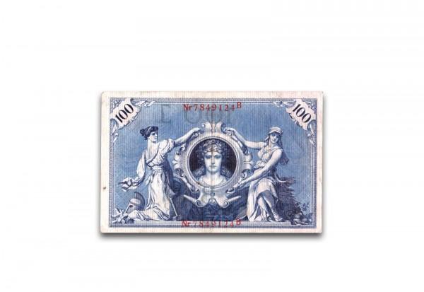 Kaiserreich 100 Mark Blauer Hunderter 1905-1915