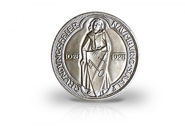 Weimarer Republik 3 Reichsmark Silbermünze 1928 Naumburg
