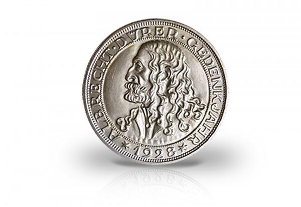 Weimarer Republik 3 Reichsmark Silbermünze 1928 Albrecht Dürer
