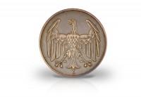 Zusatzbild zu 4 Pfennig 1932 Weimarer Republik Brüningtaler Prägestätte unserer Wahl Jaeger-Nr. 315