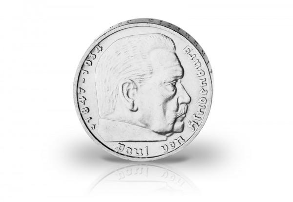 Drittes Reich 2 Reichsmark 1935 bis 1939 Der erste Ersatzkaiser