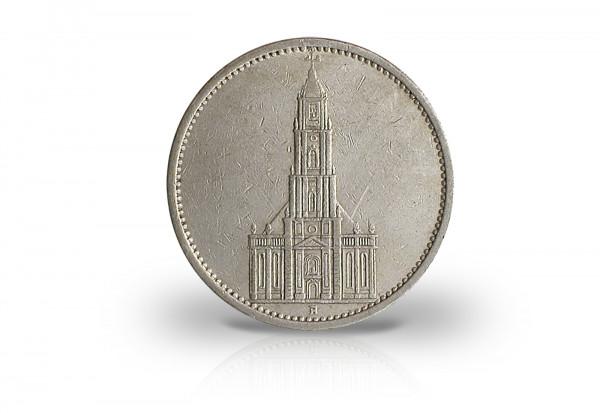 Drittes Reich 5 Reichsmark 1934 1935 Garnisonskirche Ohne Datum