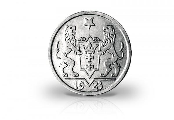 Danzig 1 Gulden Silbermünze 1923