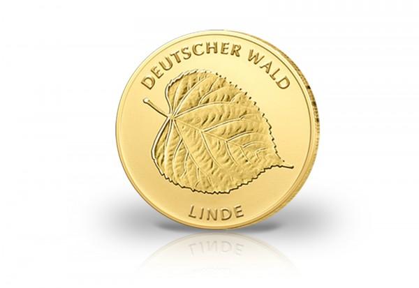 Deutschland 20 Euro Goldmünze 2015 Linde Prägestätte D München
