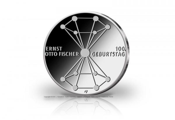 20 Euro Silbermünze 2018 Deutschland 100. Geburtstag Ernst Otto Fischer st