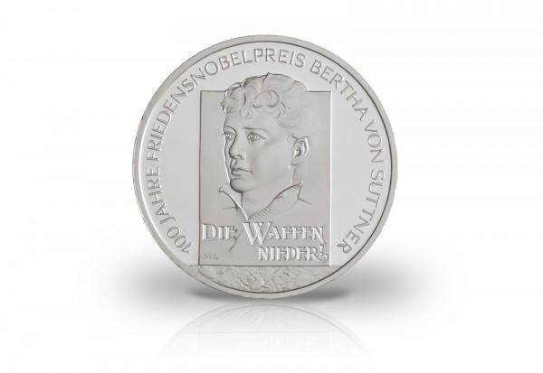 Brd 10 Euro Silbermünze 2005 Pp Bertha Von Suttner 10 Euro Silber