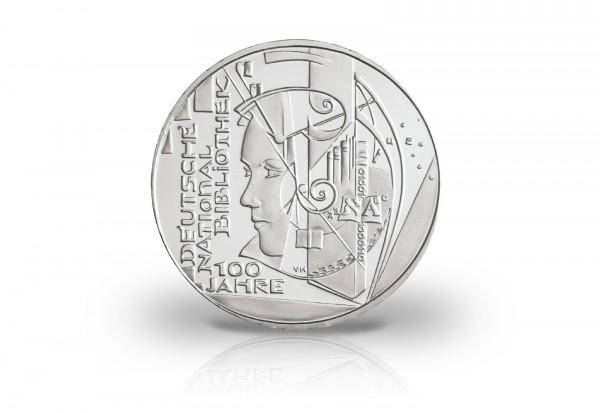 Brd 10 Euro 2012 Pp Deutsche Nationalbibliothek 10 Euro Silber