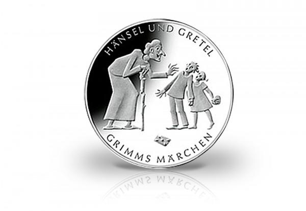 Brd 10 Euro Silbermünze 2014 Pp Hänsel Und Gretel 10 Euro Silber