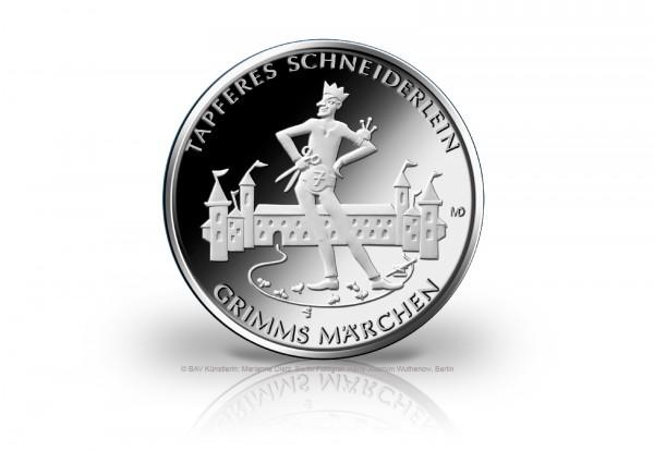 20 Euro Silbermünze 2019 Deutschland Das tapfere Schneiderlein st Vorbestellung