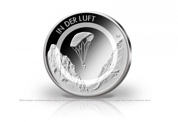 BRD 10 Euro Münze 2019 In der Luft Prägestätte A-J st Reservierung