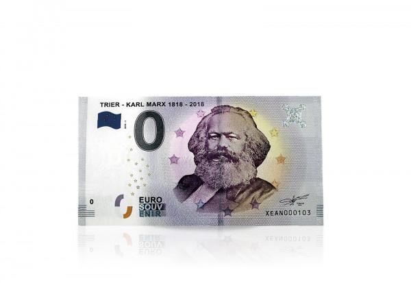 0,- Euro aus Trier 200. Geburtstag Karl Marx