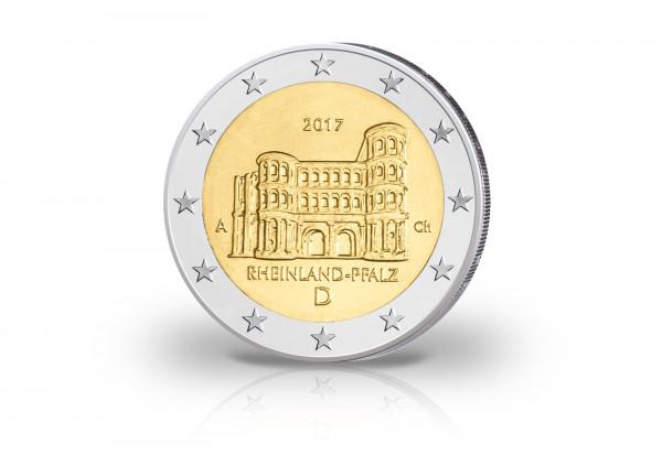Brd 2 Euro 2017 Pp Porta Nigra Rheinland Pfalz Prägestätte A