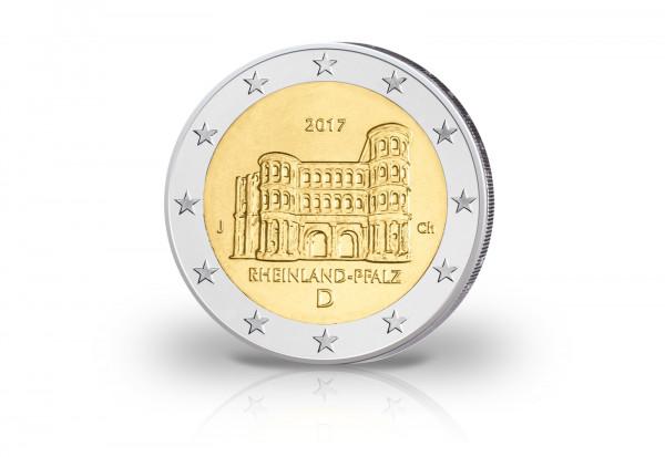 Brd 2 Euro 2017 Pp Porta Nigra Rheinland Pfalz Prägestätte J