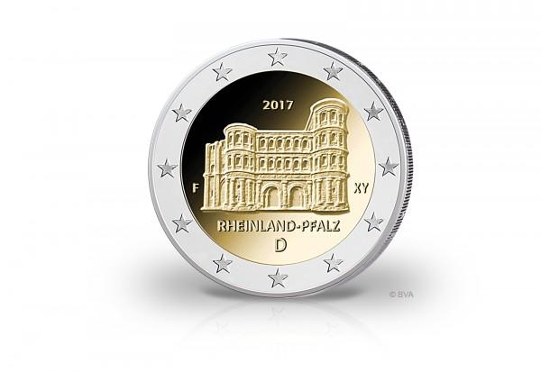 Brd 2 Euro 2017 Porta Nigra Prägestätte Unsere Wahl Jahrgang 2017