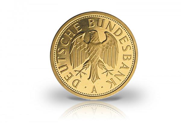 Brd 1 Mark Gold 2001 Prägestätte A Berlin Umlaufmünzen Brd