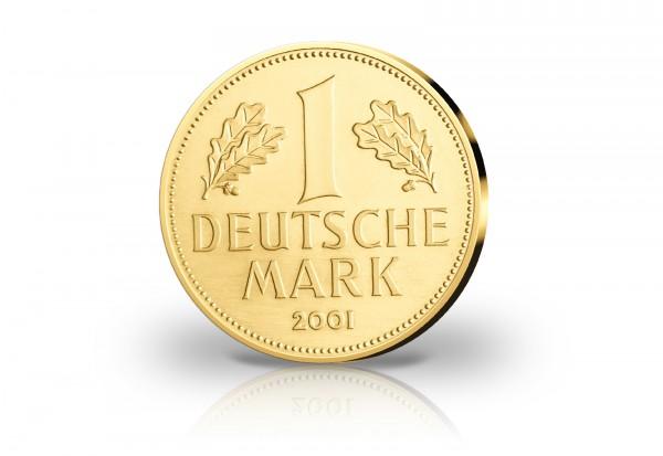 Neuprägung Von 1 Mark 2001 Diverse Gedenkmünzen Deutschland