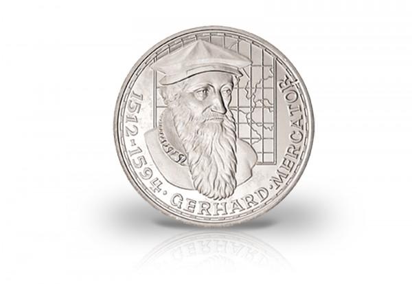 Brd 5 Dm Silbermünze 1969 F Mercator Fehlprägung Mit Langem R 5