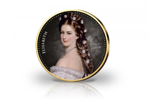 2 Euro Kaiserin Elisabeth Sissi 2 Euro Gedenkmünzen Veredelt 2